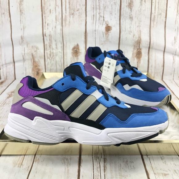 New Adidas Originals Yung-96 Blue Purple Sneaker